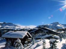 Courchevel sous la neige