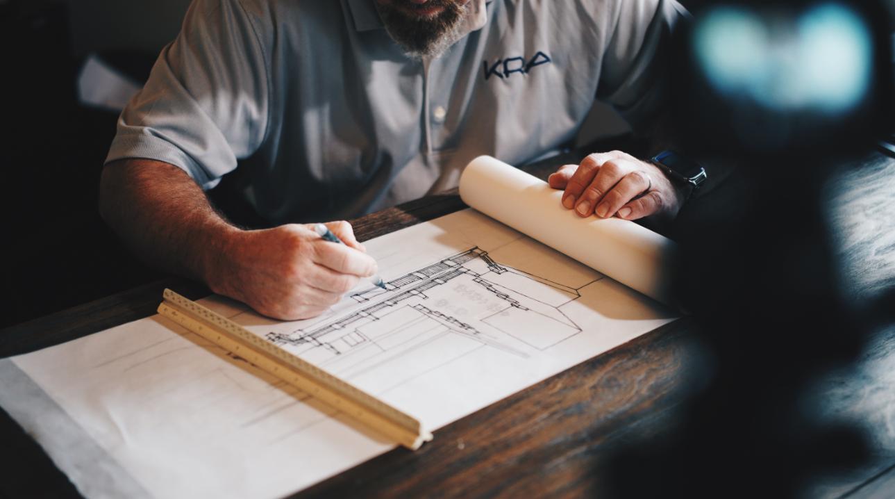 Constructeur qui dessine les plans d'une maison